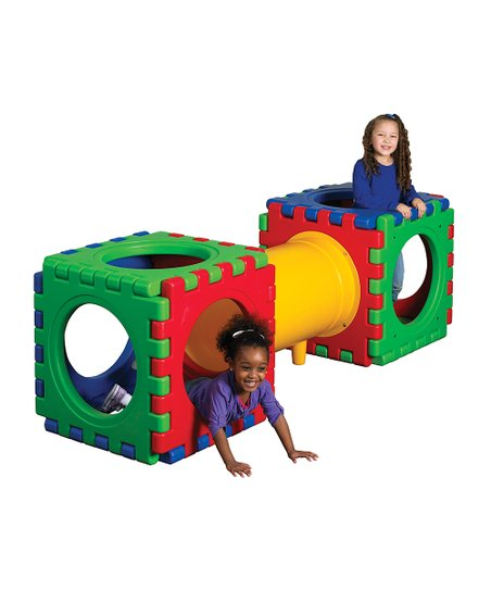 Tunnel Cube Play Set