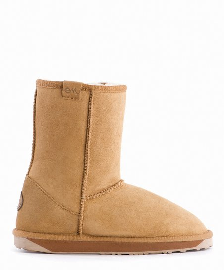 Chestnut Suede Stinger Lo Boot - Women