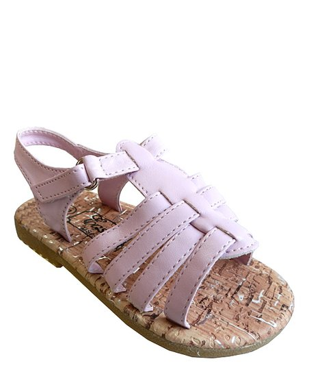 Pink Strappy Sandal - Toddler