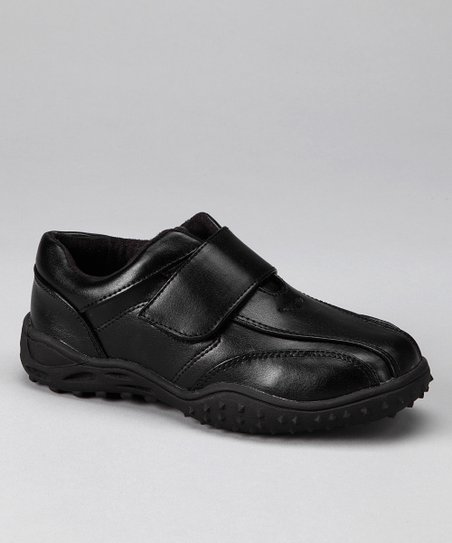 Black Fold-Over Shoe