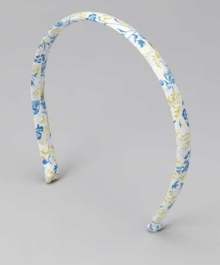 Emily Lacey Blue & Yellow Daisy Headband