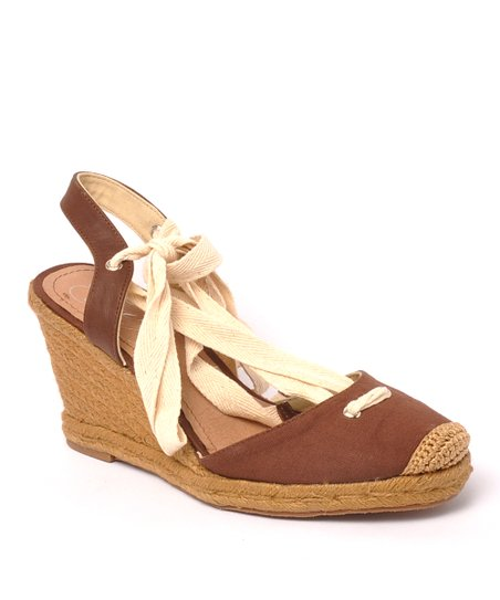 Brown Wintergreen Espadrille