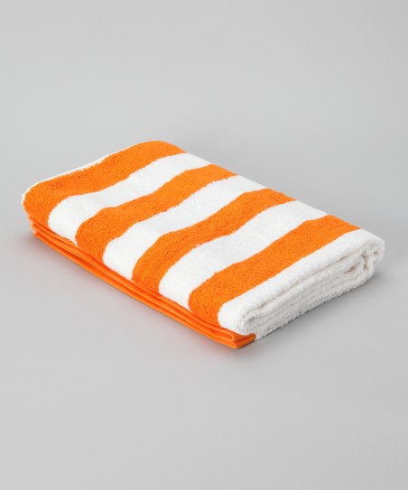 Mango Stripe Havana Cabana Towel - Set of Two