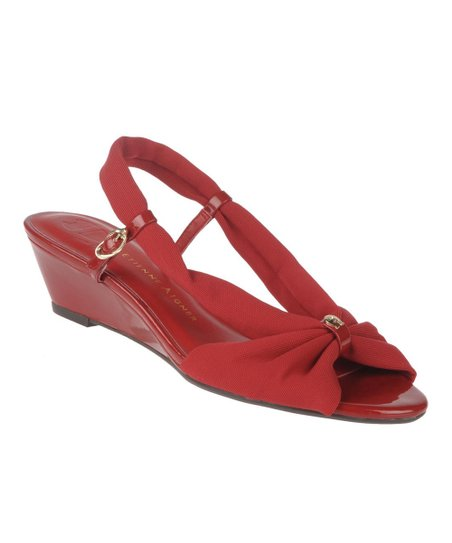 Plexi Red Olinda Wedge