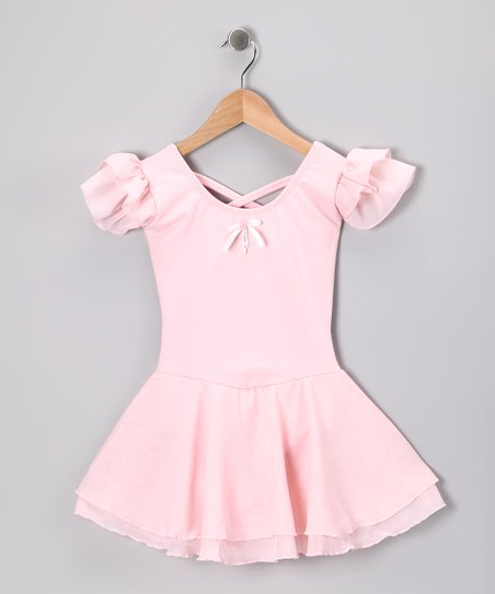 Pink Sophia Skirted Leotard - Toddler & Girls
