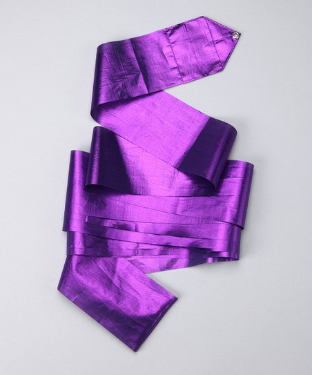 Purple Metallic Streamer