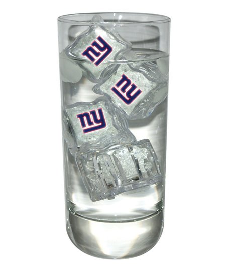 New York Giants Light-Up Ice Cube - Set of Four