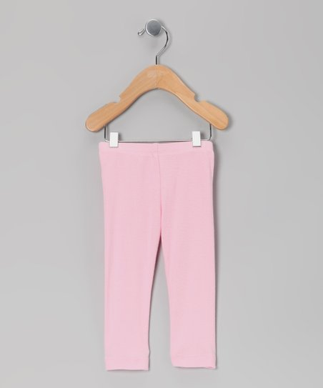 Light Pink Leggings - Infant, Toddler & Girls