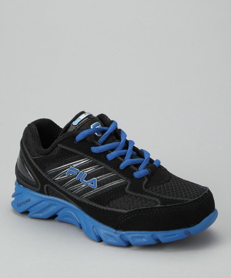 Black & Blue Coolmax Radical Lite Running Shoe