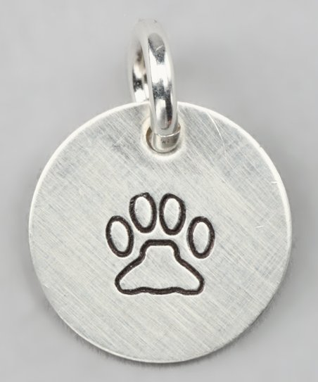 Sterling Silver Expressions Man's Best Friend Charm
