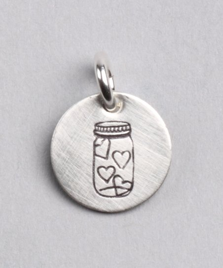 Sterling Silver Expressions Full of Love Charm