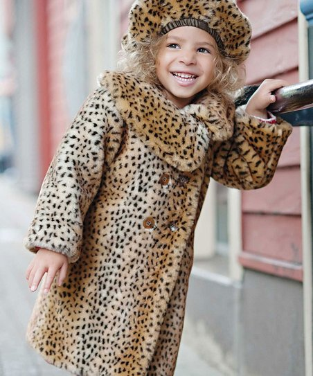 Donna Salyer Leopard Diva Coat - Toddler