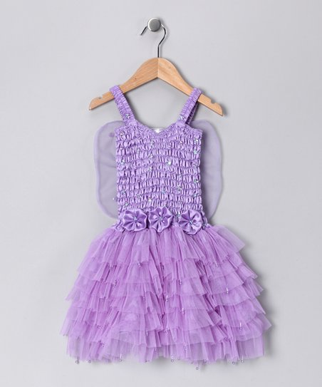 Light Purple Fairy Dress - Girls