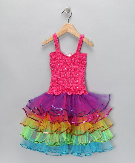 Fuchsia Lily Dress - Infant, Toddler & Girls