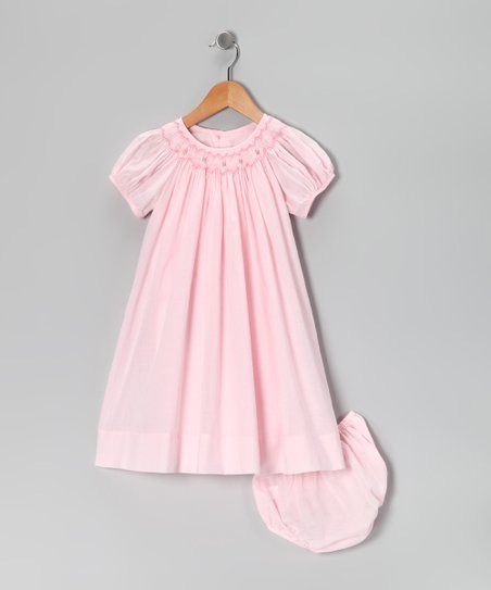 Pink Bishop Dress - Infant