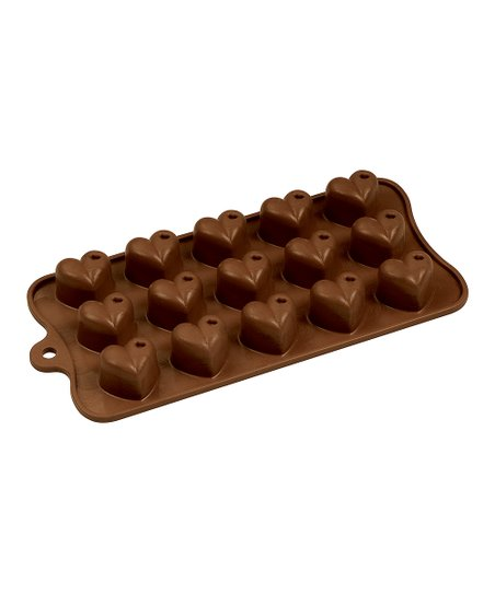 Dimpled Heart Chocolate Mold
