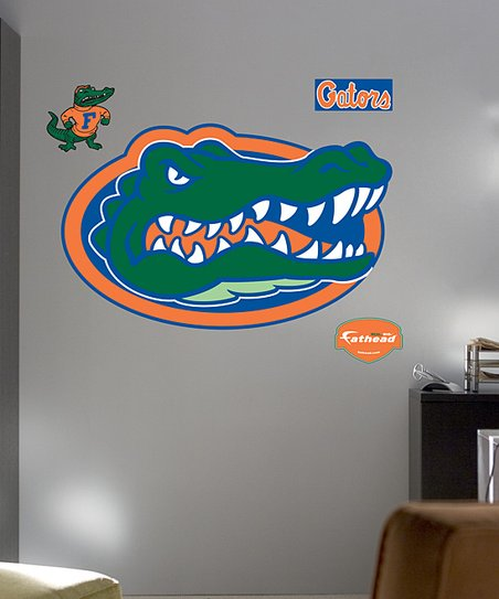 Fathead Florida Gators Logo Wall Decal Set