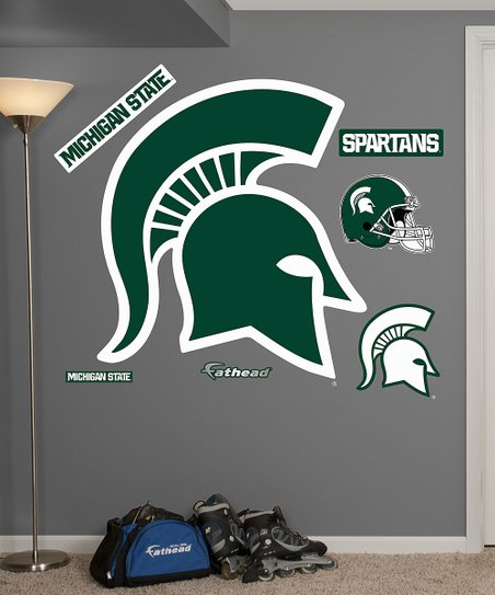 Fathead Michigan State Spartans Logo Wall Decal Set