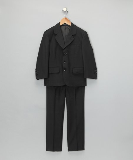 Black Suit Jacket & Pants - Boys