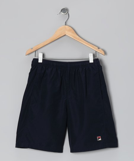 Peacoat Essenza Tennis Shorts - Boys