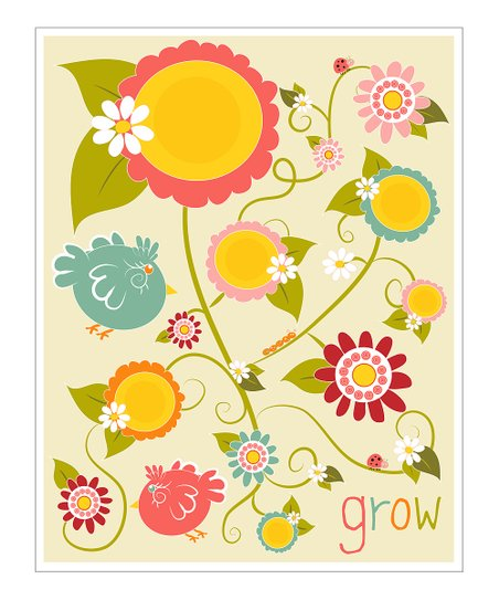 &#039;Grow&#039; Gicle Print