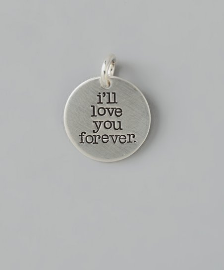 Sterling Silver 'I'll Love You' Charm