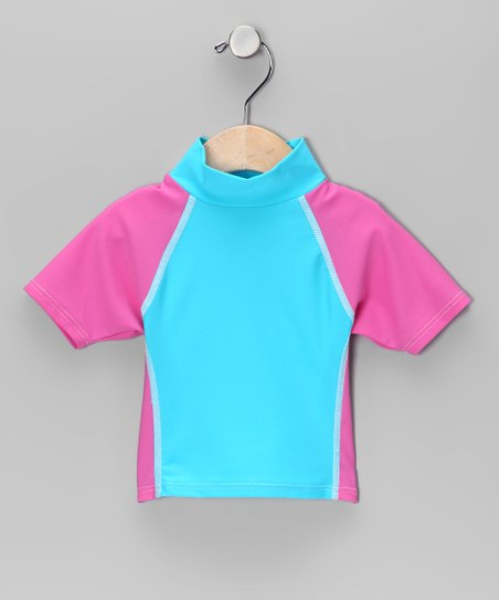 Flap Happy Paradise Rashguard - Infant, Toddler & Girls