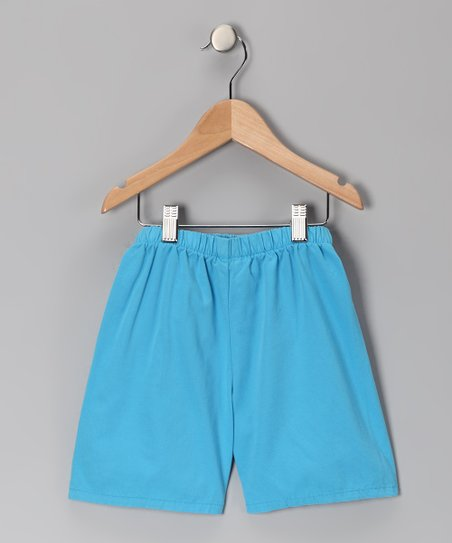 Azure Brushed Twill Shorts - Infant, Toddler &amp; Boys