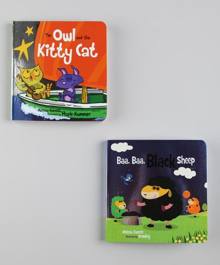 Baa, Baa, Black Sheep & The Owl and the Kitty Cat Board Books