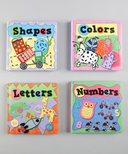 Early Learning Padded Board Book Set