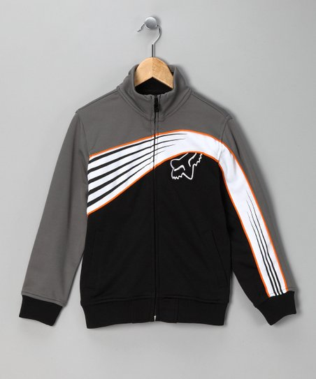Black Top Shelf Track Jacket