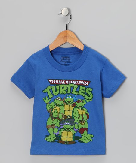 Royal 'Teenage Mutant Ninja Turtles' Group Pose Tee - Toddler
