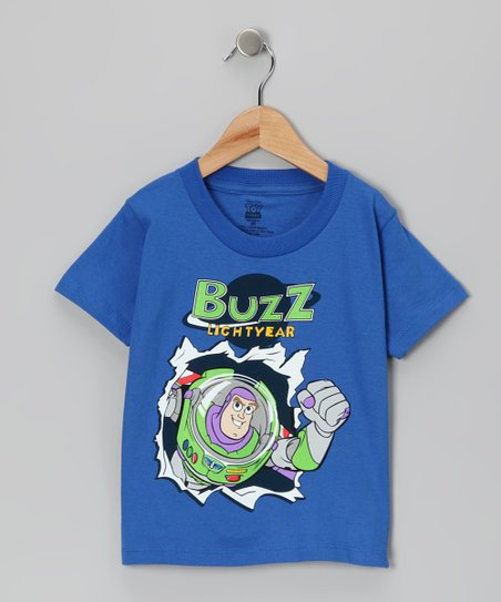 Royal Blue 'Buzz Lightyear' Tee - Toddler