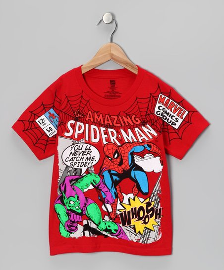 Red &#039;Amazing Spider-Man&#039; Tee - Boys
