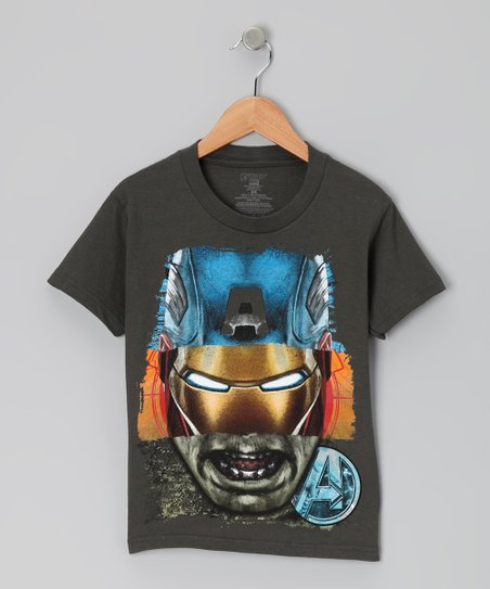 Charcoal Avengers Tee - Kids