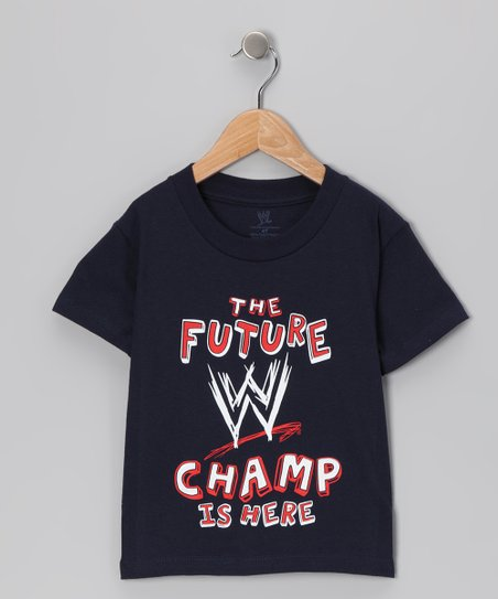 Navy &#039;Future WWE Champ&#039; Tee - Toddler