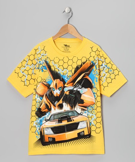Daisy Transformers Bumble Bee Tee - Boys