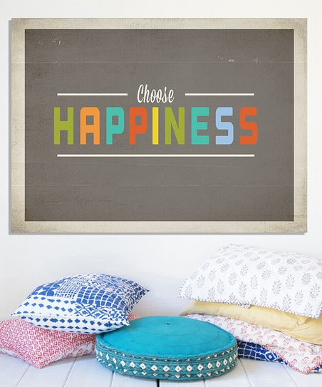 'Choose Happiness' Print