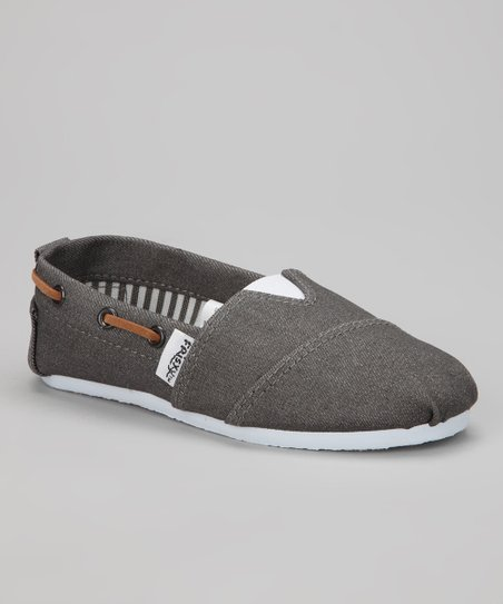 Gray Rope Slip-On Sneaker