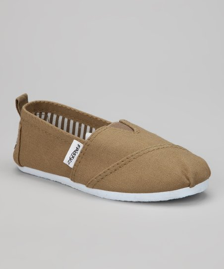 Khaki Classic Slip-On Shoe