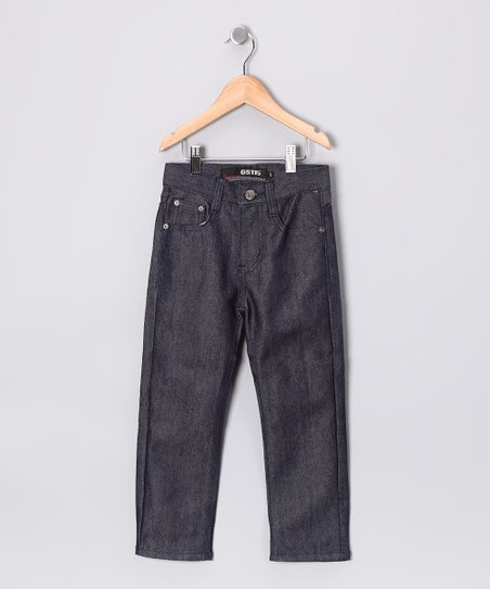 Dark Indigo Straight-Leg Jeans - Toddler & Boys
