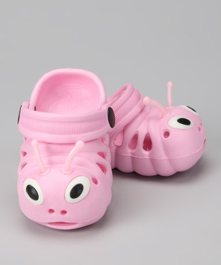 Pink Critter Clog