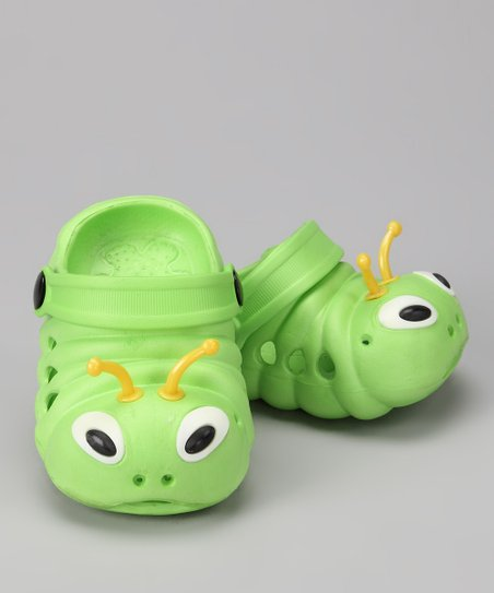 Lime &amp; Yellow Critter Clog