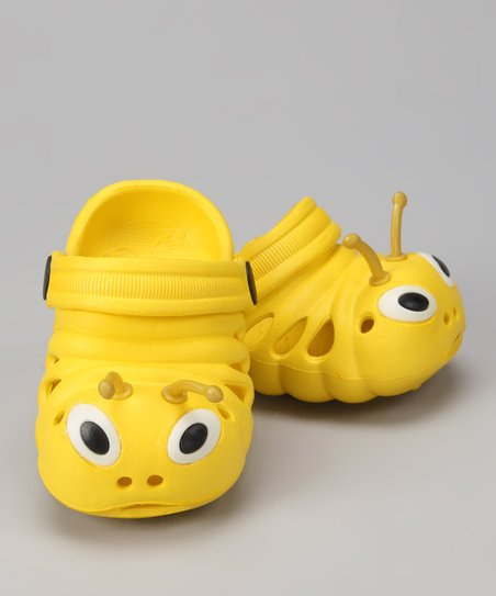Yellow Critter Clog