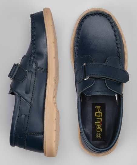 Blue Stitched Loafer