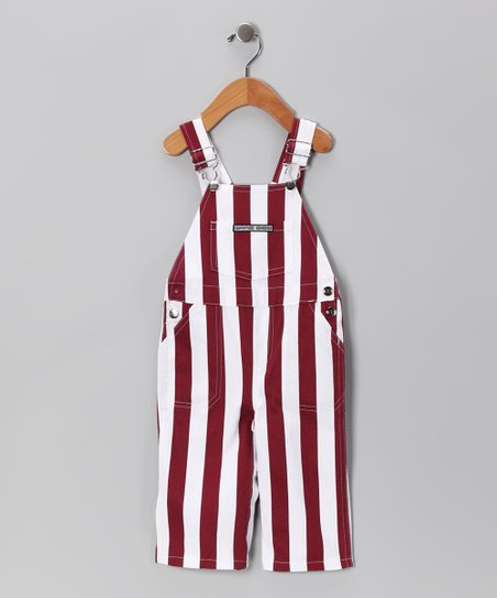 Texas A&M Stripe Overalls - Infant & Toddler