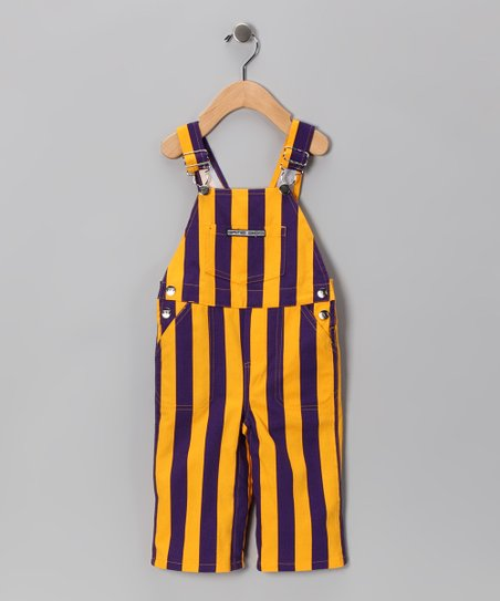 Minnesota Vikings Colors Overalls - Kids