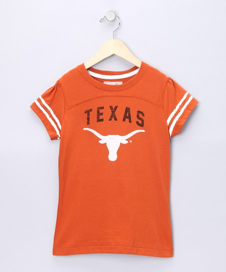 Orange Texas Olivia Tee - Girls