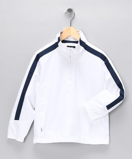 White Cameron Pullover - Toddler &amp; Boys