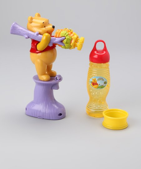 Pooh Bubble Blower Set